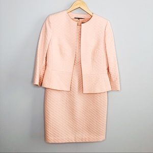 Albert Nipon Pink Dress Jacket Set | Sz 4